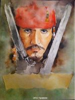Captain Jack Sparrow Request by Nynirere