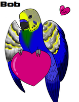 Bob the Budgie by Nintendo-Lover-Kat