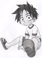 Luffy Child 01 by pupsia