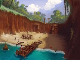 Aztec Cove 2 by Hazzard65