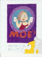 TS: Duff Wench Meg Poster by Cartuneslover16