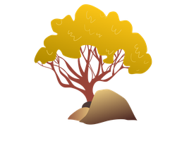Mlp fim desert tree by thecoltalition