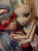 ghoulia and lagoona by Odscene