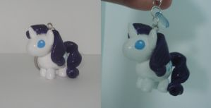 .:Rarity Key Chain:. by PeaBlueJr