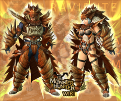 Raviente Armor from MHWiki by joshuchiha12