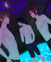 Free! Night Swimming by SinfulHime