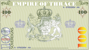 100sovereign banknote by empireofthrace