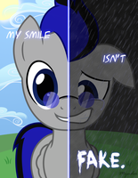 Two Sides of Knight Smile by Mynder