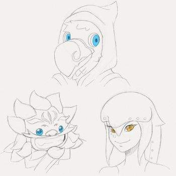 Sketch Requests Batch 2 by Tharene