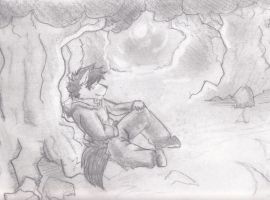 Night +pencil work+ by Galvin-wolf