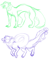 New Species sketches by AgenderedKing