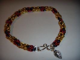 snow white inspired bracelet by TianaTinuviel