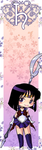 Sailor Saturn bookmark by Marc-G