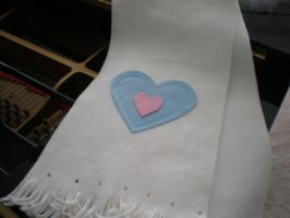 Piece of Heart Scarf by Omonomopoeia