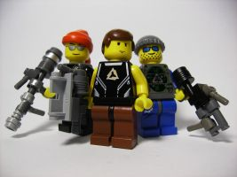 Custom LEGO Guns by skcolb
