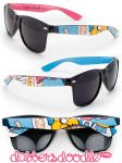 Adventure Time Fionna and Cake Sunglasses by DablurArt