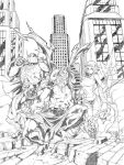 City of Heroes commission by CarlosGomezArtist
