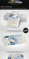 Rack Card Mockup by idesignstudio