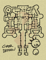 Sword of Valor- Citadel Map by WhoDrewThis