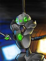 Zeke the Xbot by Finfrock