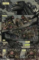 Godzilla Rulers of Earth #25 pg1 by KaijuSamurai