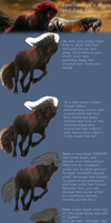 Equine Hair Tutorial by peachesrox