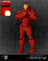 TRDL- Iron Man Hypervelocity by TRDLcomics
