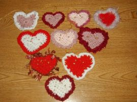 Valentines Hearts by audreydc1983