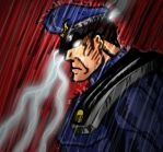 M Bison Rain by Mawnbak