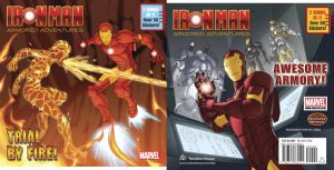 Iron Man Covers 2 and 3 by MBorkowski