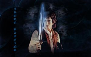 Frodo Baggins- Wallpaper by Mind-Mender