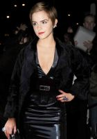 Emma Watson in Latex at charity event London by Andylatex