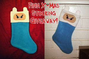 Finn X-Mas Stocking Giveaway! by Red-Flare