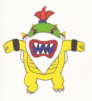 Bowser Jr. by OneOfLifesMysteries