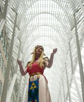 The Temple of Light- Ocarina of Time cosplay by BanditsSpurs
