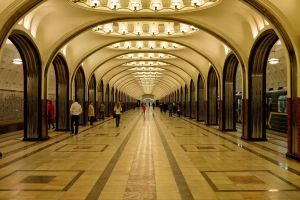 Mayakosvskaya Station by evinrude2014