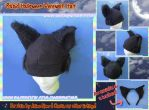 Rabid Werewolf Hat and Werewolf Headbands by AnimeNomNoms
