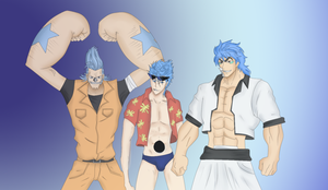 Change 3: Blue-Haired Guys by Neptune-san