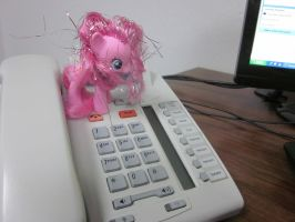 Pinkie Attacks at Work 1 by Spinian