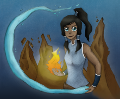 Legend of Korra by mellocat