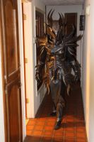 Skyrim Daedric Armor, indoor lighting by lsomething