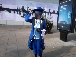 Ciel Phantomhive cosplay ^^ by OtakuRhi