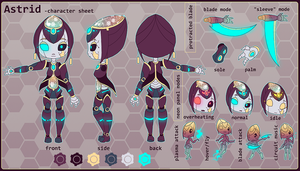Astrid Character Reference by chicinlicin