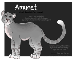 Amunet by painted-flamingo