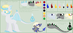 Crystal Draco Species :Original MLP Species: by HopeForTheFuture13
