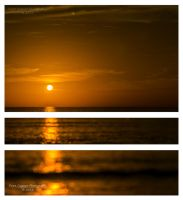 Tryptic Sunset by eanimusic