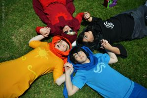 Beta God Tier Group [Homestuck] by FarorePhotography