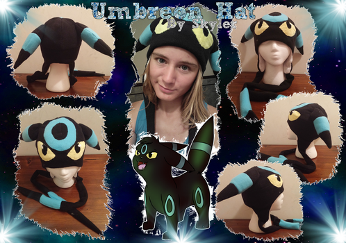Umbreon Hat by Squigmunks