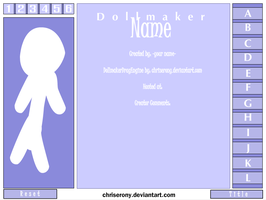 Dollmaker Drag Engine File by chriserony