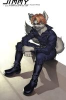 Confidence: Jimmy Wolf by JayAxer